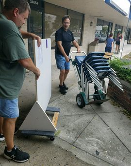 Center Academy Hurricane Irma Cleanup
